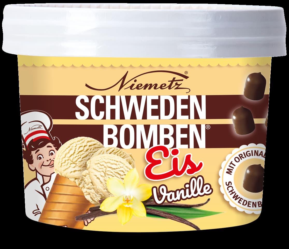 Schwedenbomben Eis Vanille