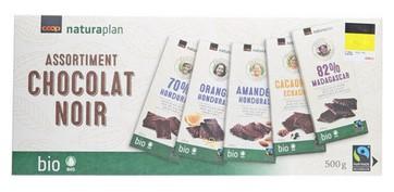 Dunkle Schweizer Schokoladen assortiert