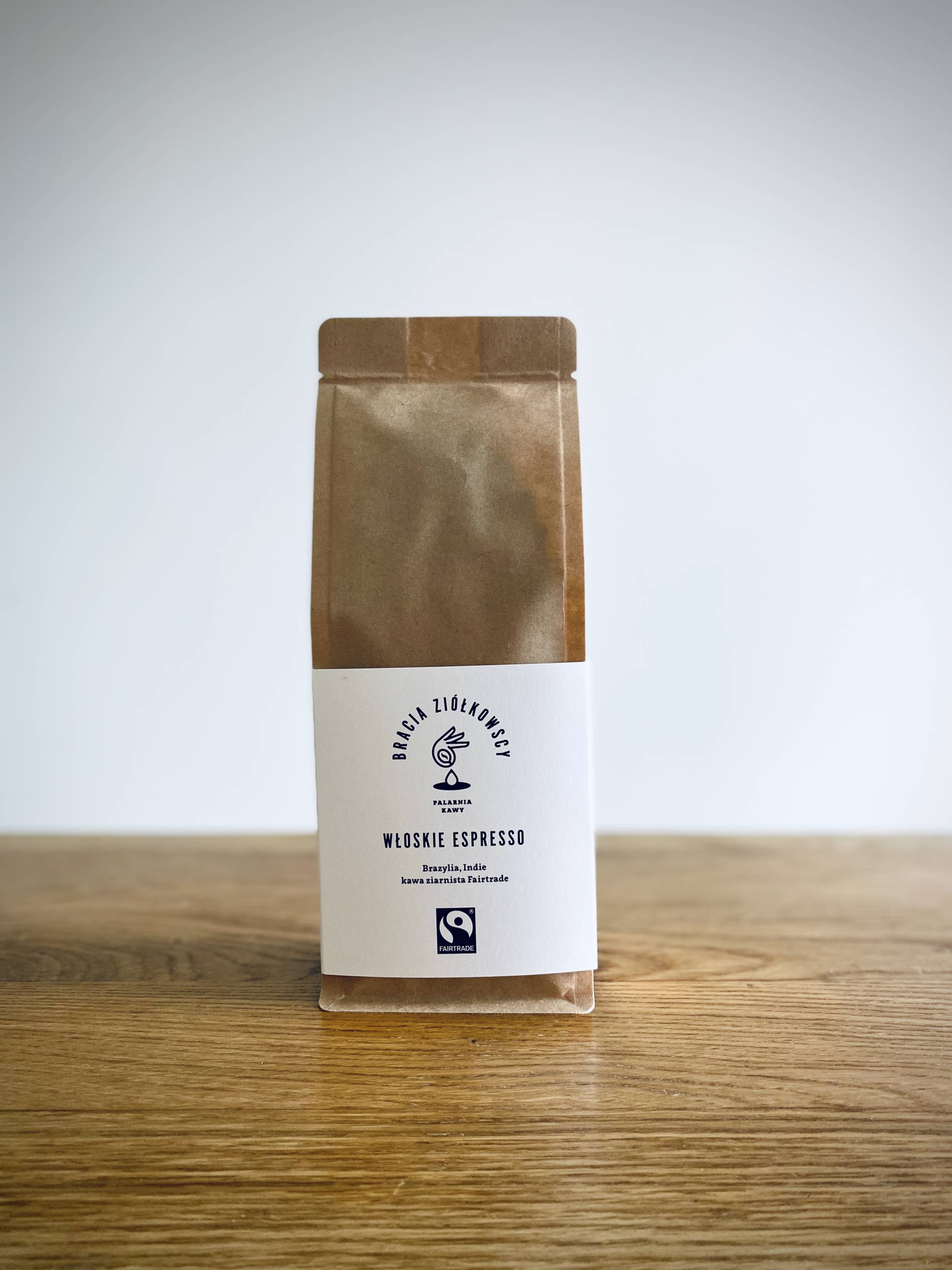 Włoskie espresso; Brazylia, Indie