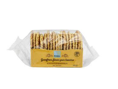 Gaufres fines pur beurre