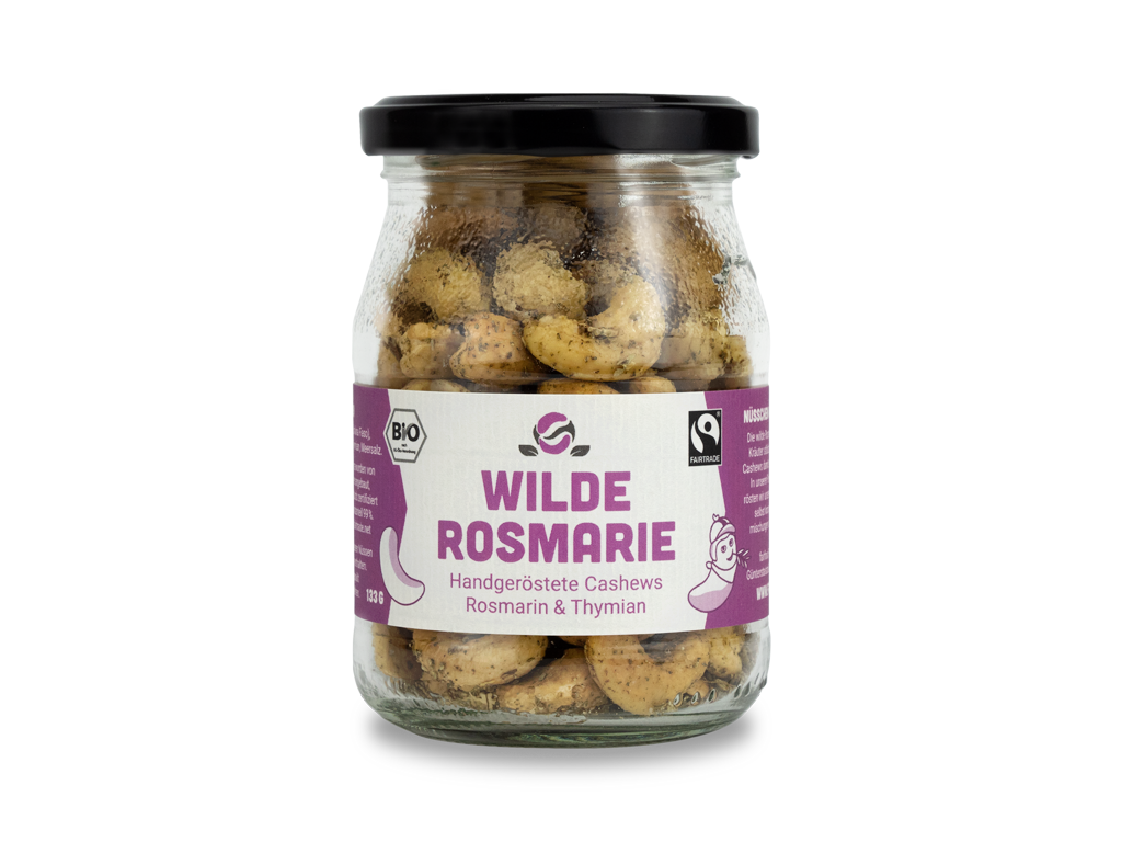 Cashewkerne Rosmarin & Thymian (133g)
