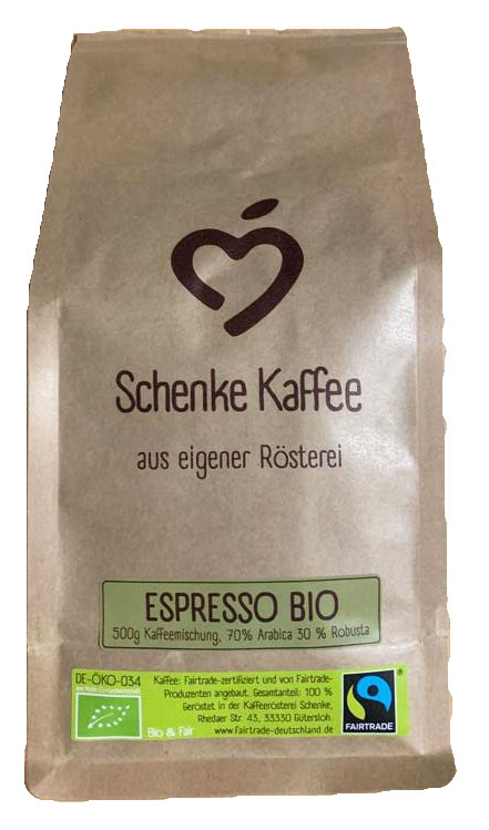 Schenke Espresso Bio & Fair 500g