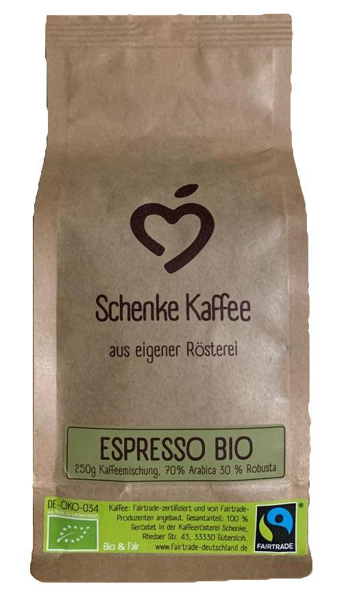Schenke Espresso Bio & Fair 250g