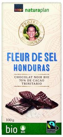 Tafelschokolade mit Fleur de Sel