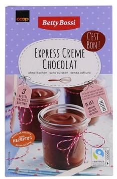 Instant Crèmepulver mit fettarmen Kakaopulver