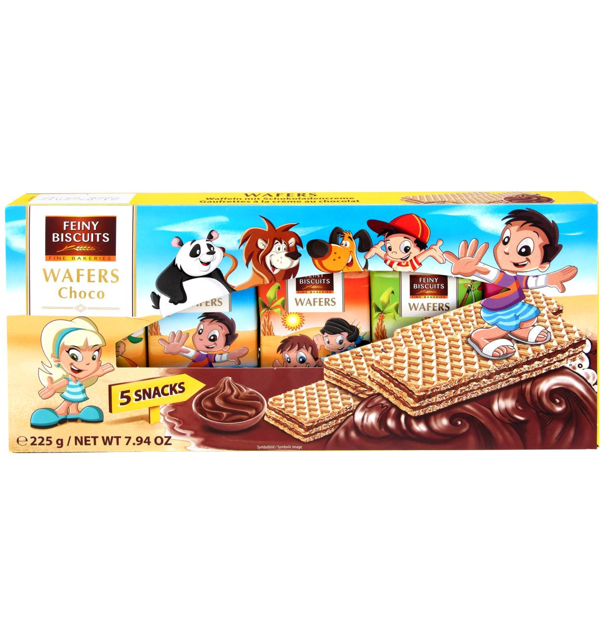 Kinder-Waffeln mit Schokoladencreme 225g (5x45g)