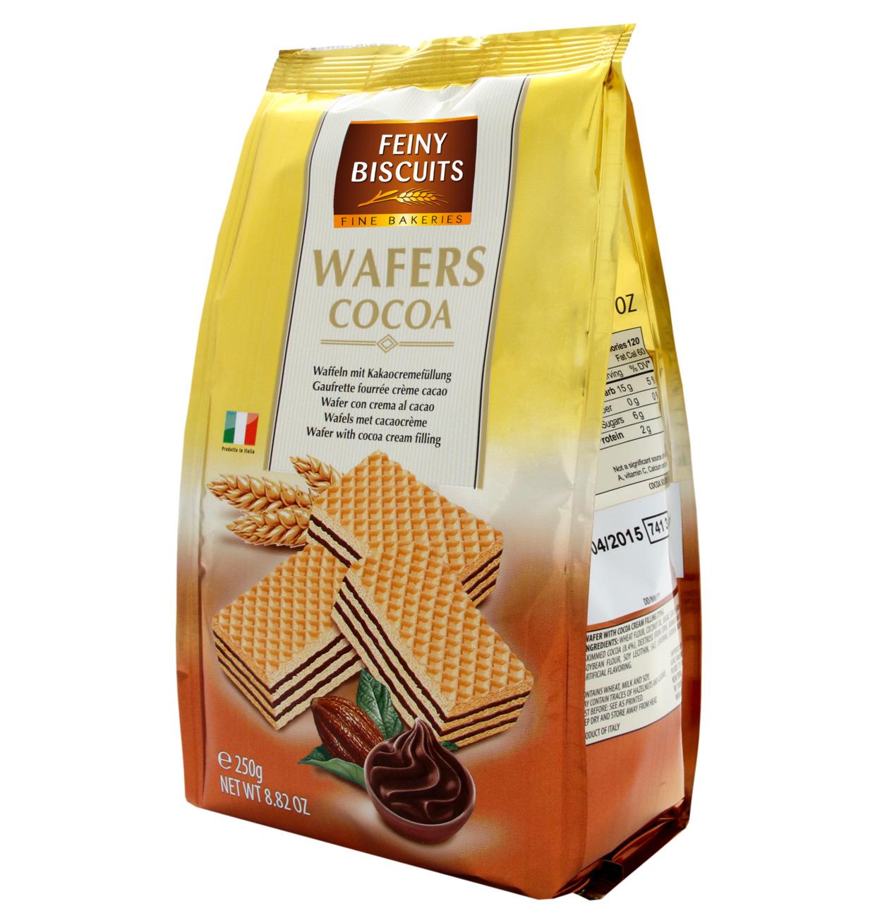 Waffeln mit Kakaocremefüllung
