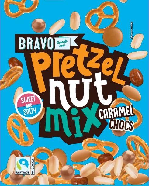 BRAVO NUSS-BREZEL MIX