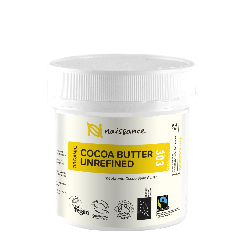 Cocoa Butter Unrefined Organic 100g