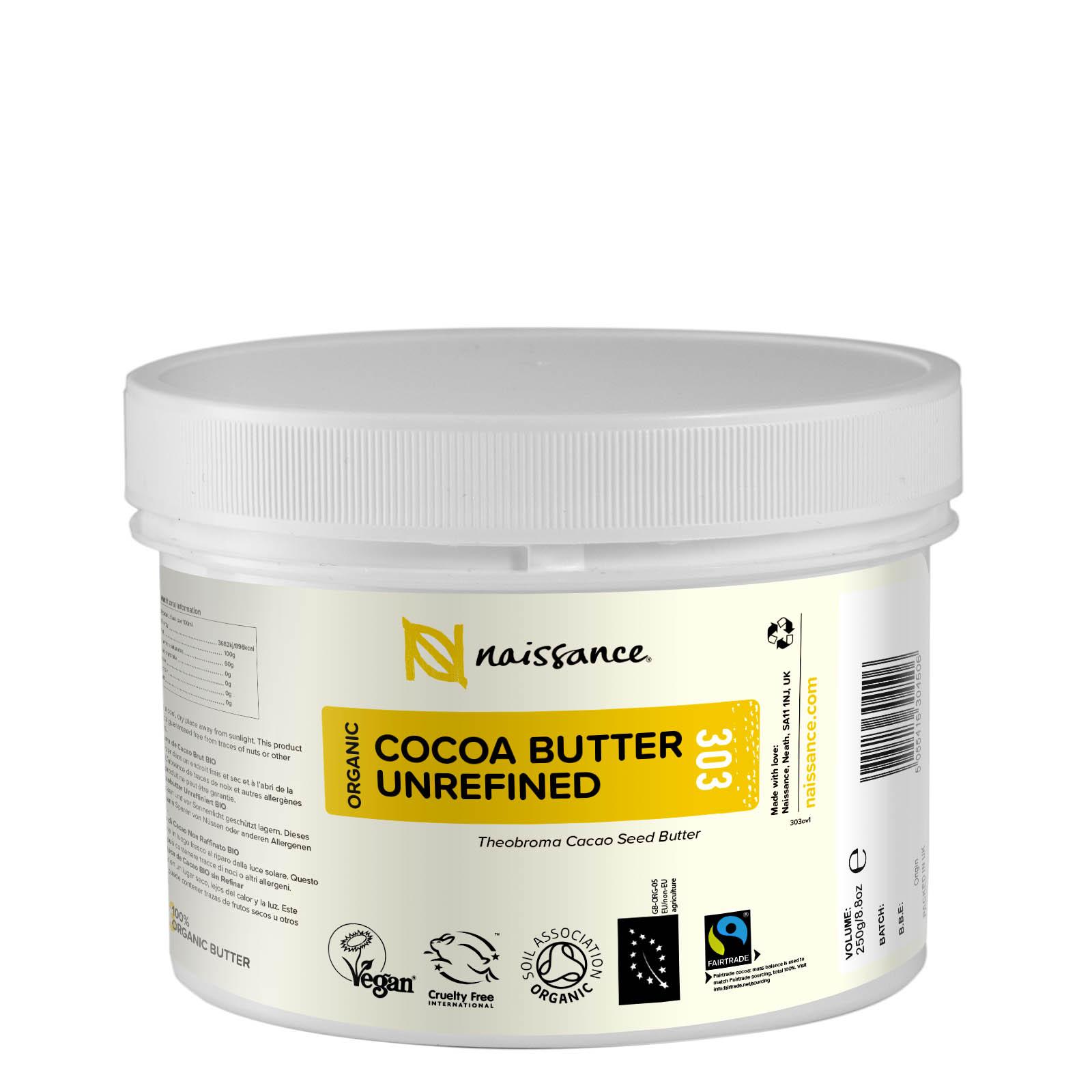 Cocoa Butter Unrefined Organic 250g
