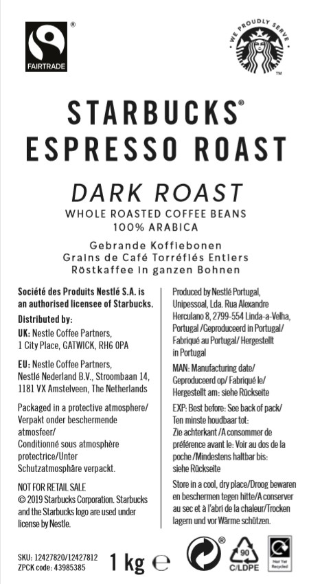 Starbucks Espresso Roast UK