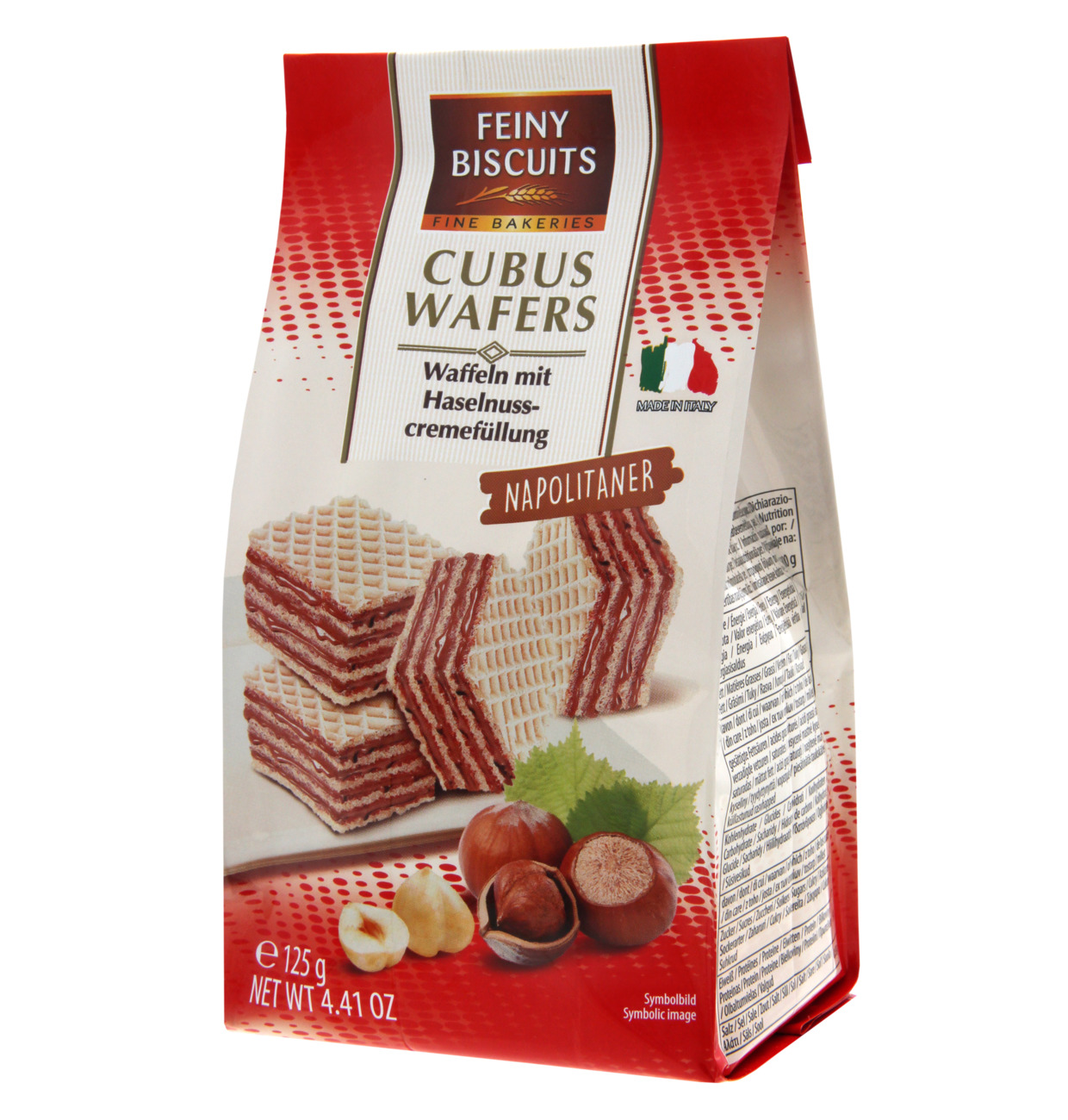 Cubus Wafers Napolitaner