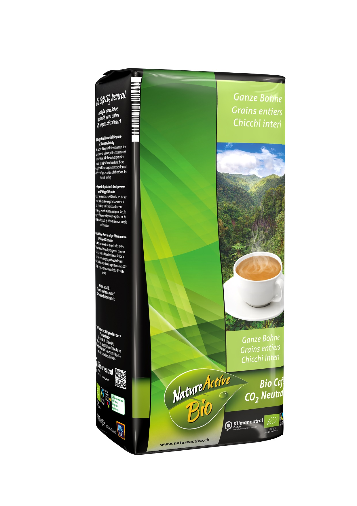 Café CO2 Neutral, Bohnen