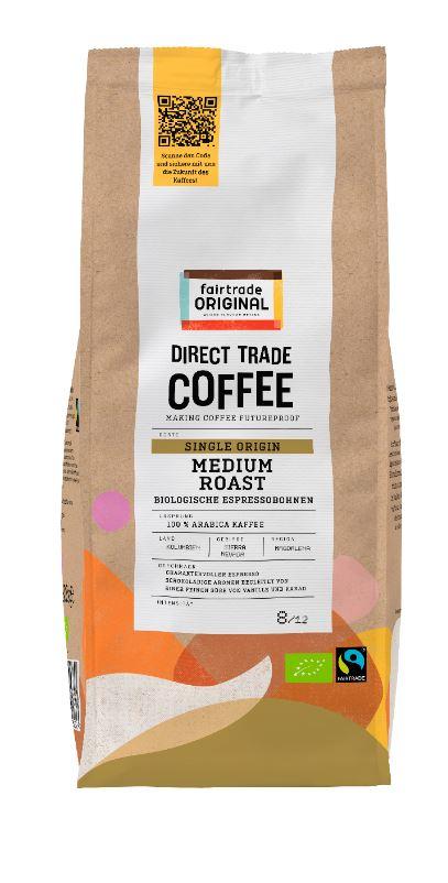 Direct Trade Coffee Medium Roast Biologische Espressobohnen