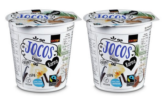 Kokosmilchzubereitung fermentiert, mit Vanille
