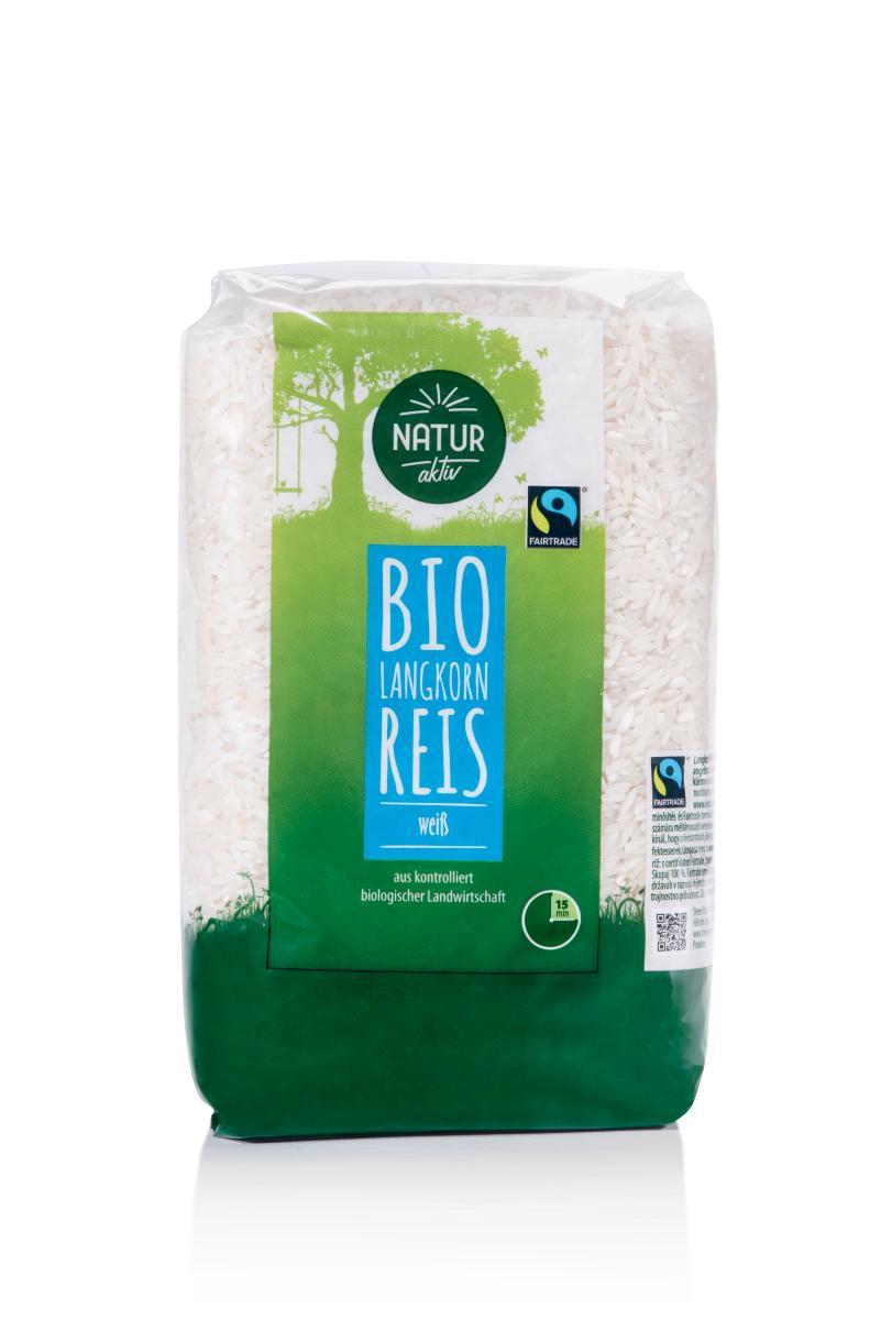 Langkorn Reis weiß