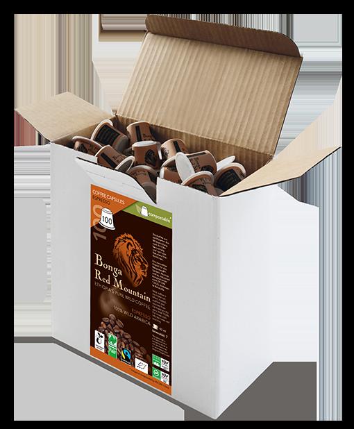 Kaffeekapseln Espresso 100er Box