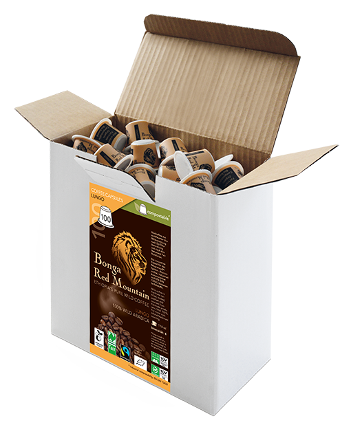 Kaffeekapseln Lungo 100er Box
