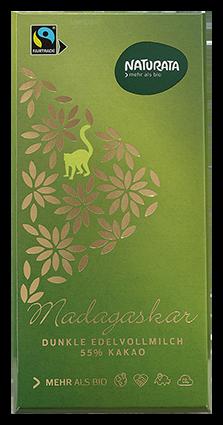 Madagaskar dunkle Vollmilchschokolade