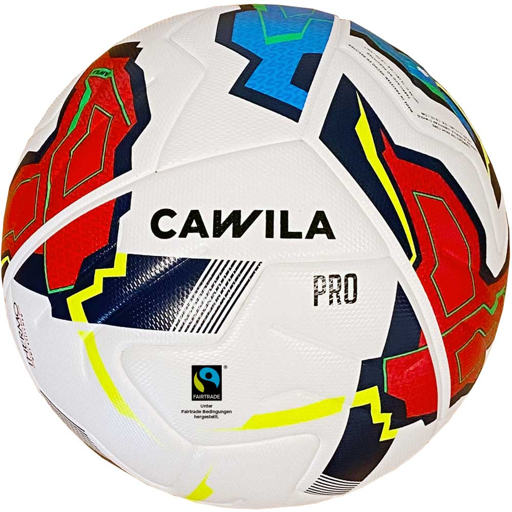 Cawila Fußball MISSION INVERTER Fairtrade, Size 5