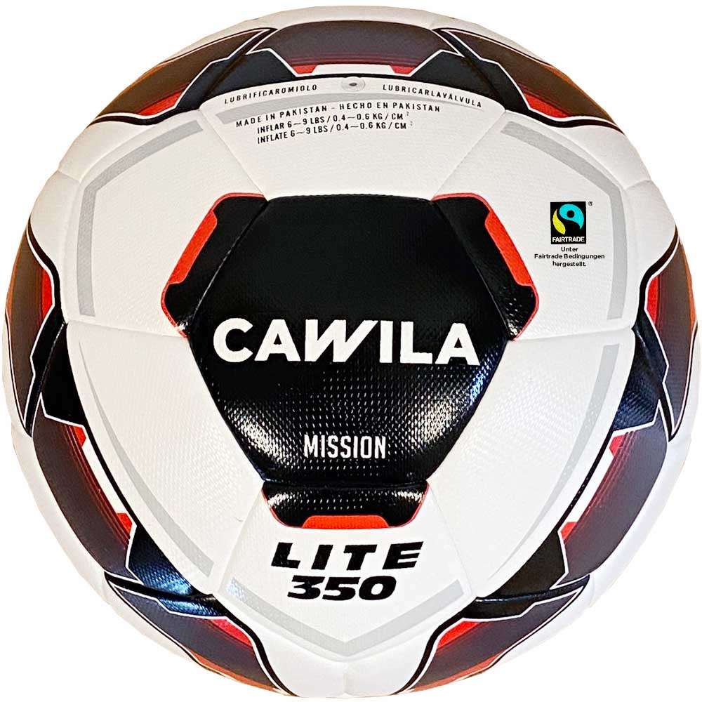 Cawila Fußball MISSION HYBRID LITE 350 Fairtrade, Size 5