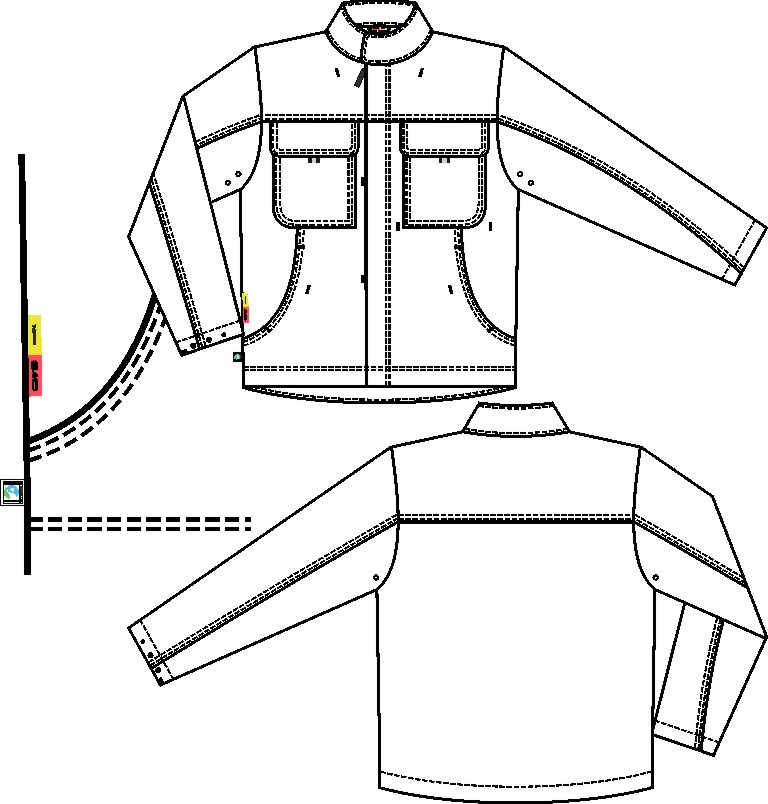 Arbeitsjacke (Supporting Cotton)