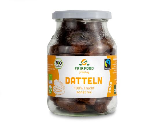 Datteln Deglet Nour Getrocknet & Entsteint (280g)