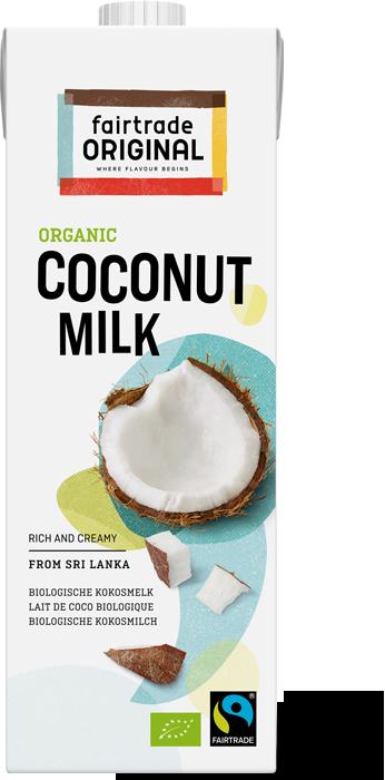 Organic and Fairtrade Coconut milk
