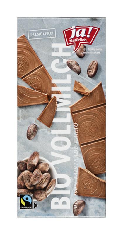 Bio Edel-Vollmilchschokolade