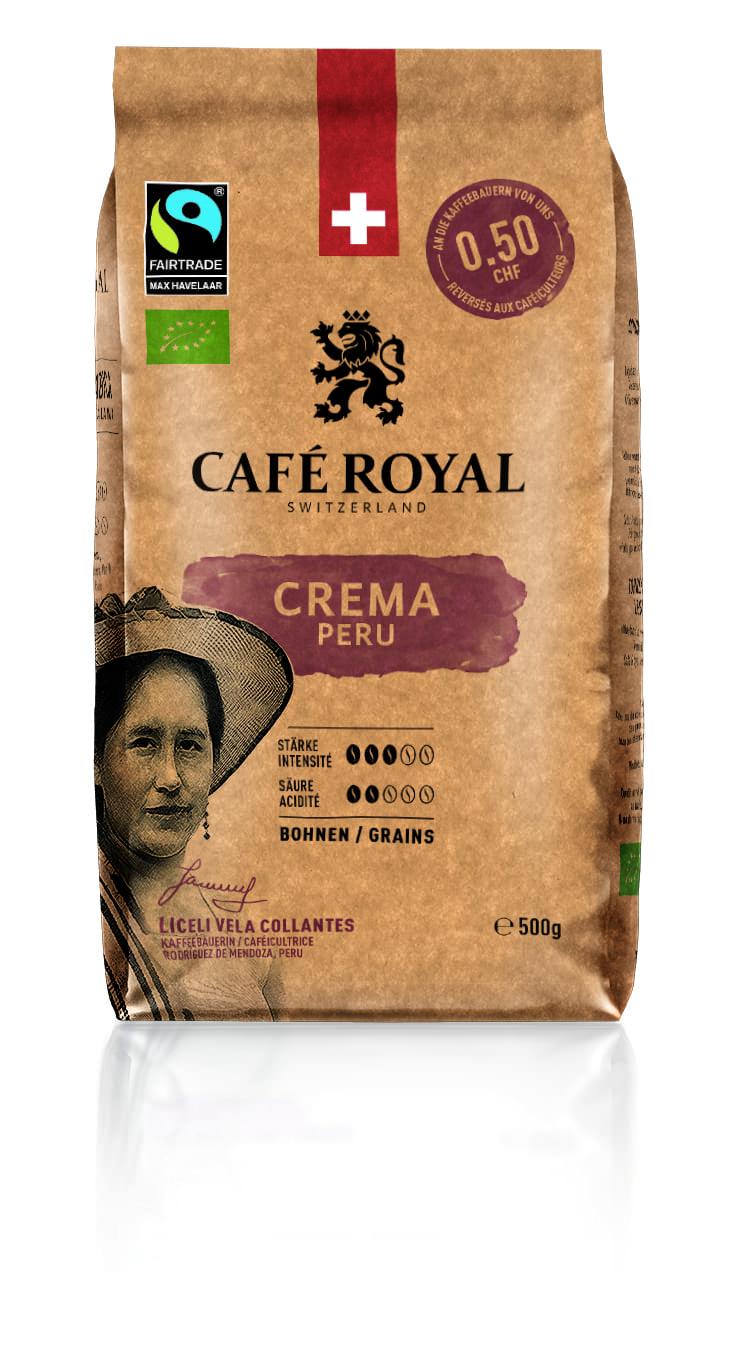 Peru Crema Bohnen