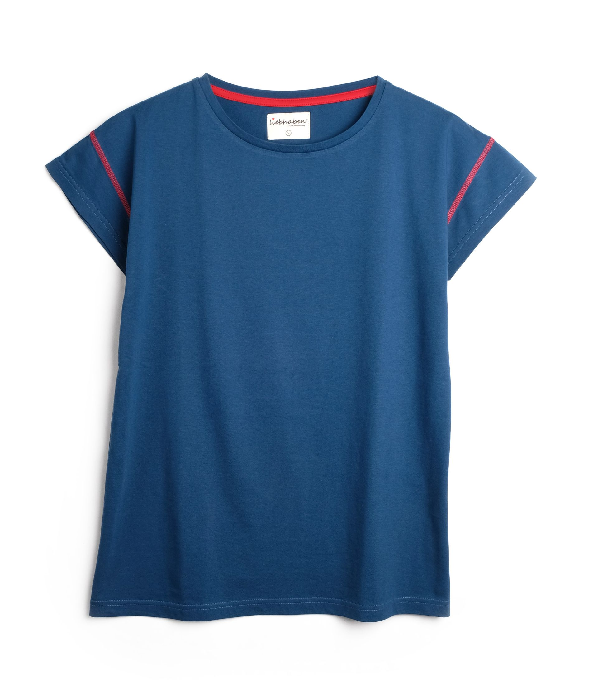 "Overcut Shoulder Shirt ""Frida"""