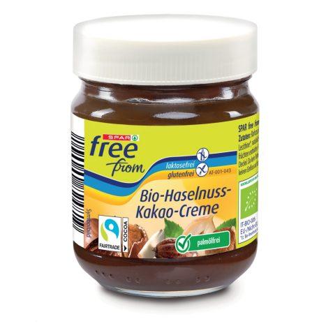 SPAR Free From  Bio-Haselnuss-Kakao-Creme 200g