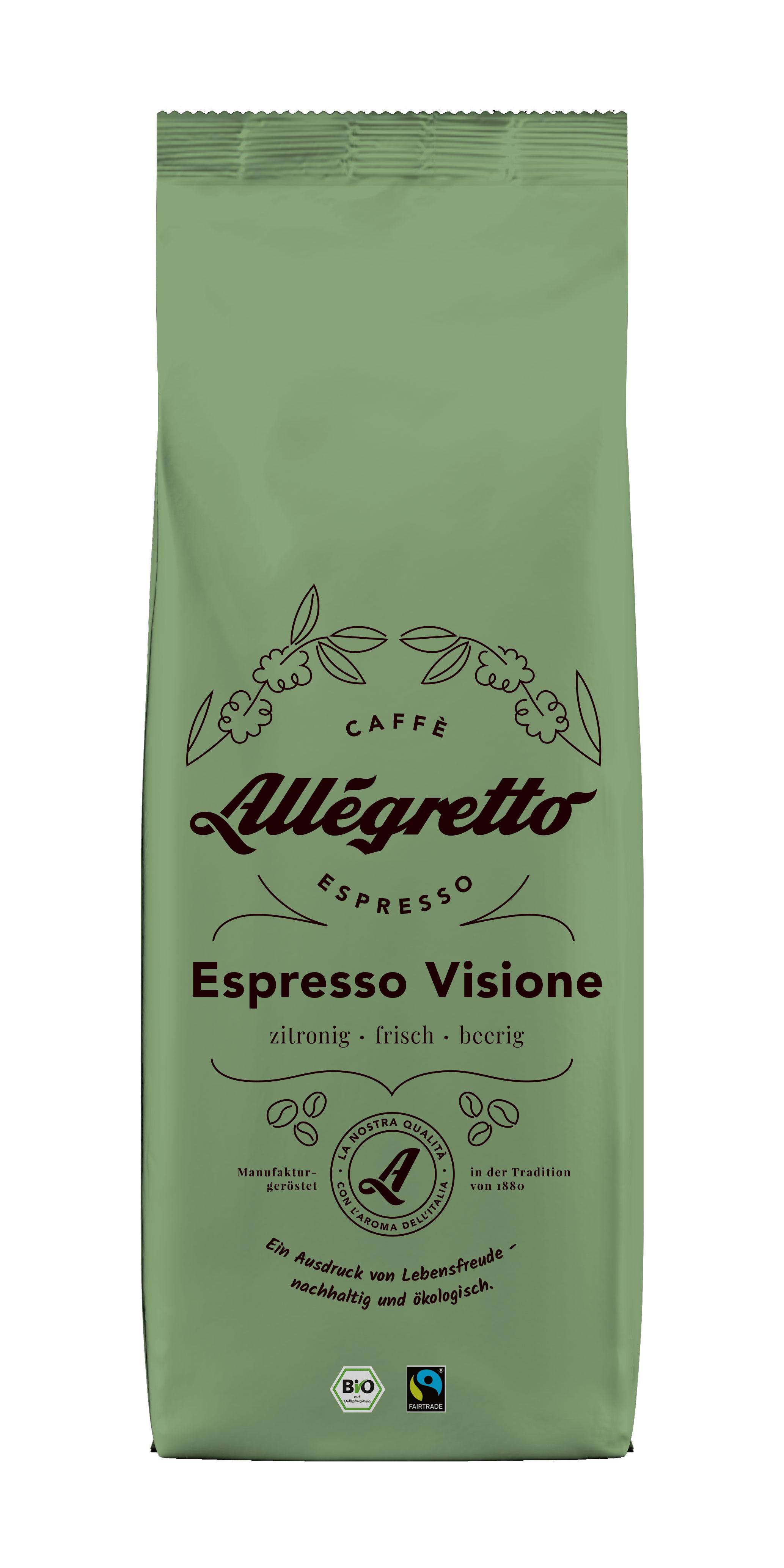 Allegtetto Espresso Visione 500g, Bohne