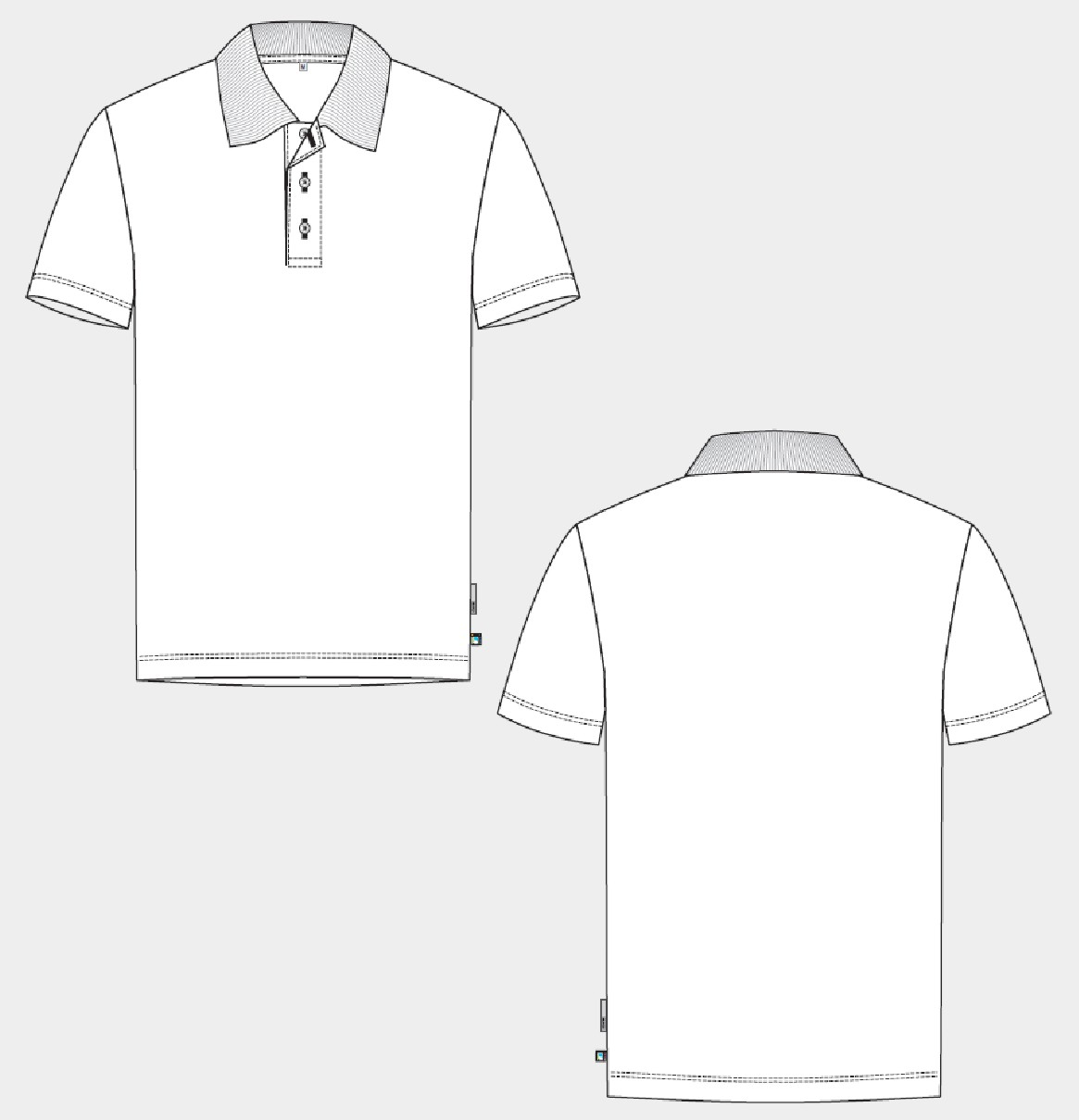 Poloshirt, Kurzarm (Supporting Cotton)