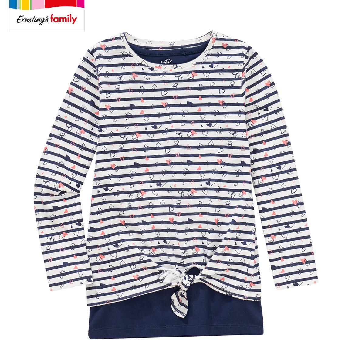 Kleinkinder Mädchen Shirts, 2 in 1