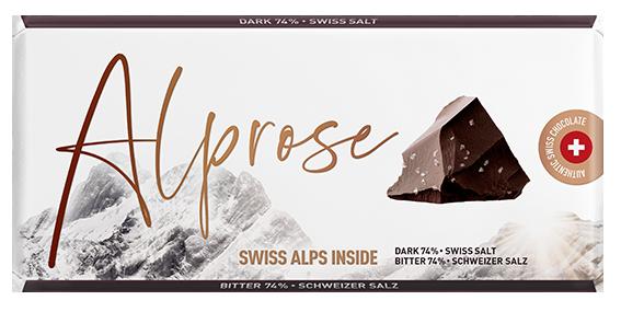 Tafelschokolade Zartbitter mit Schweizer Salz