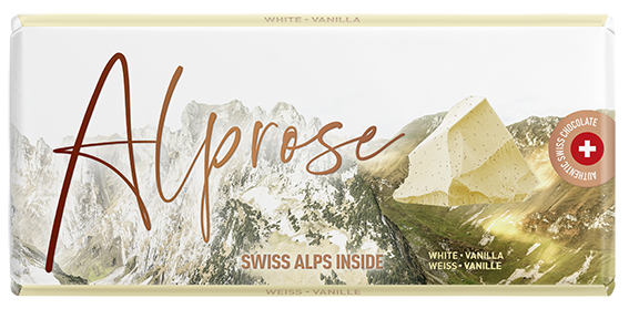 Alprose White tablet vanilla