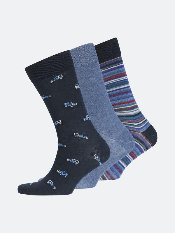 3pk. Socks FT Gift Box