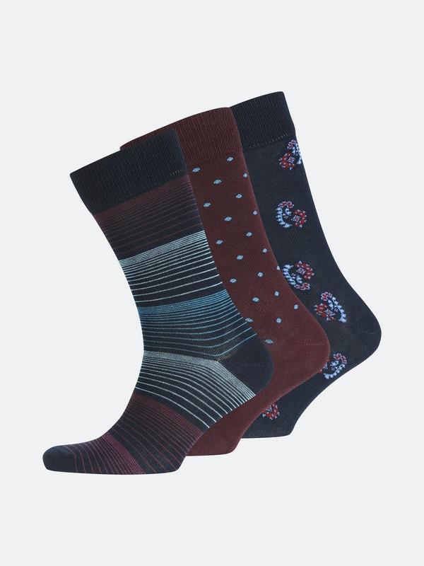 XL 3pk. Socks FT Gift Box