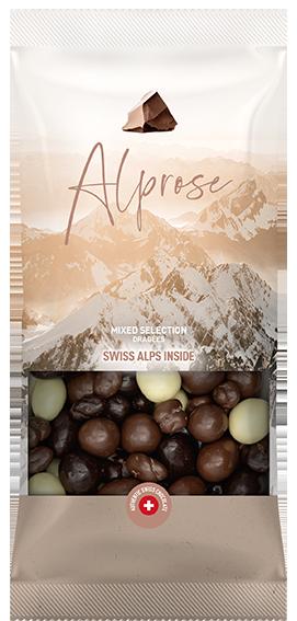 Schokoladendragees Mix Milch, Dunkel und Weiß