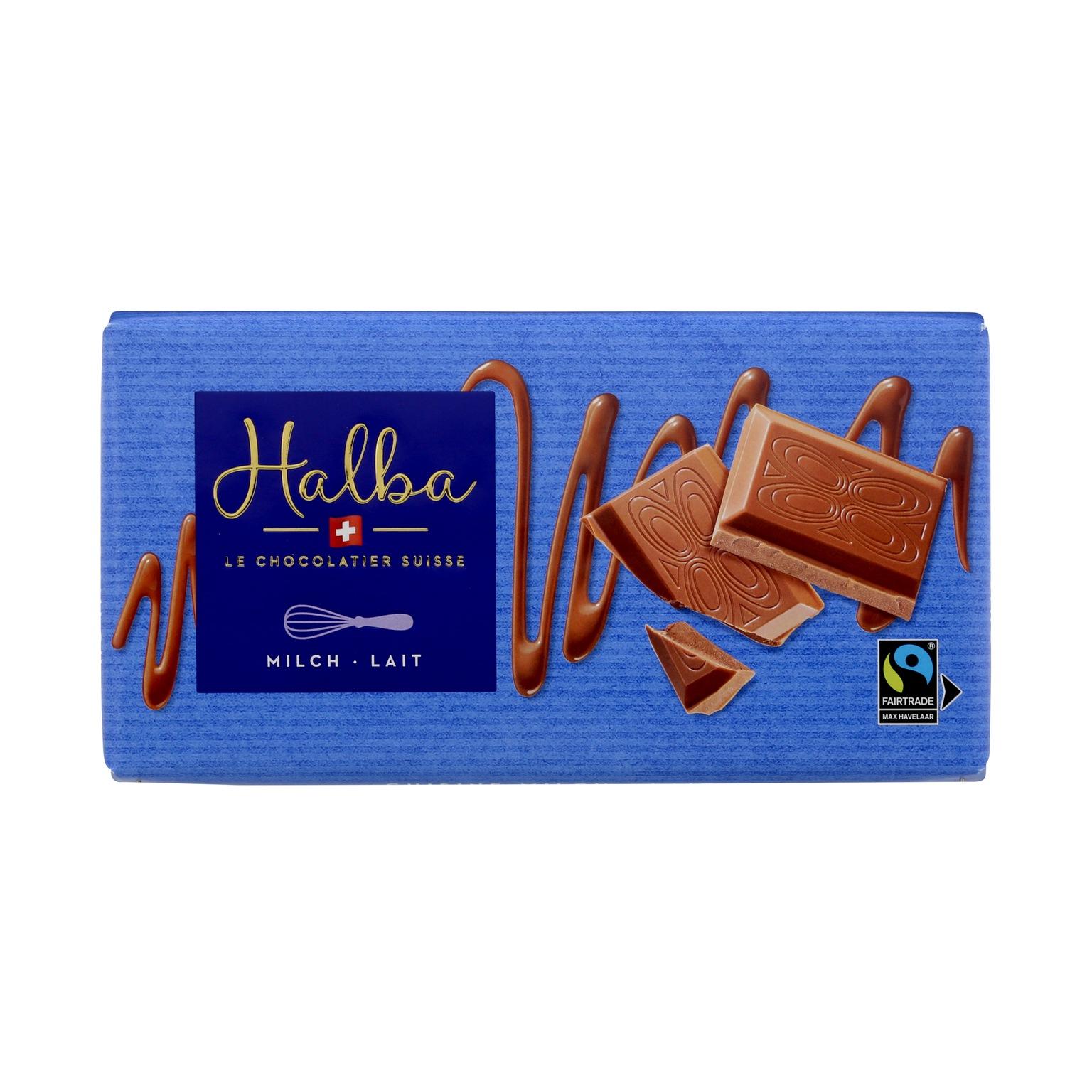 Schweizer Milchschokolade