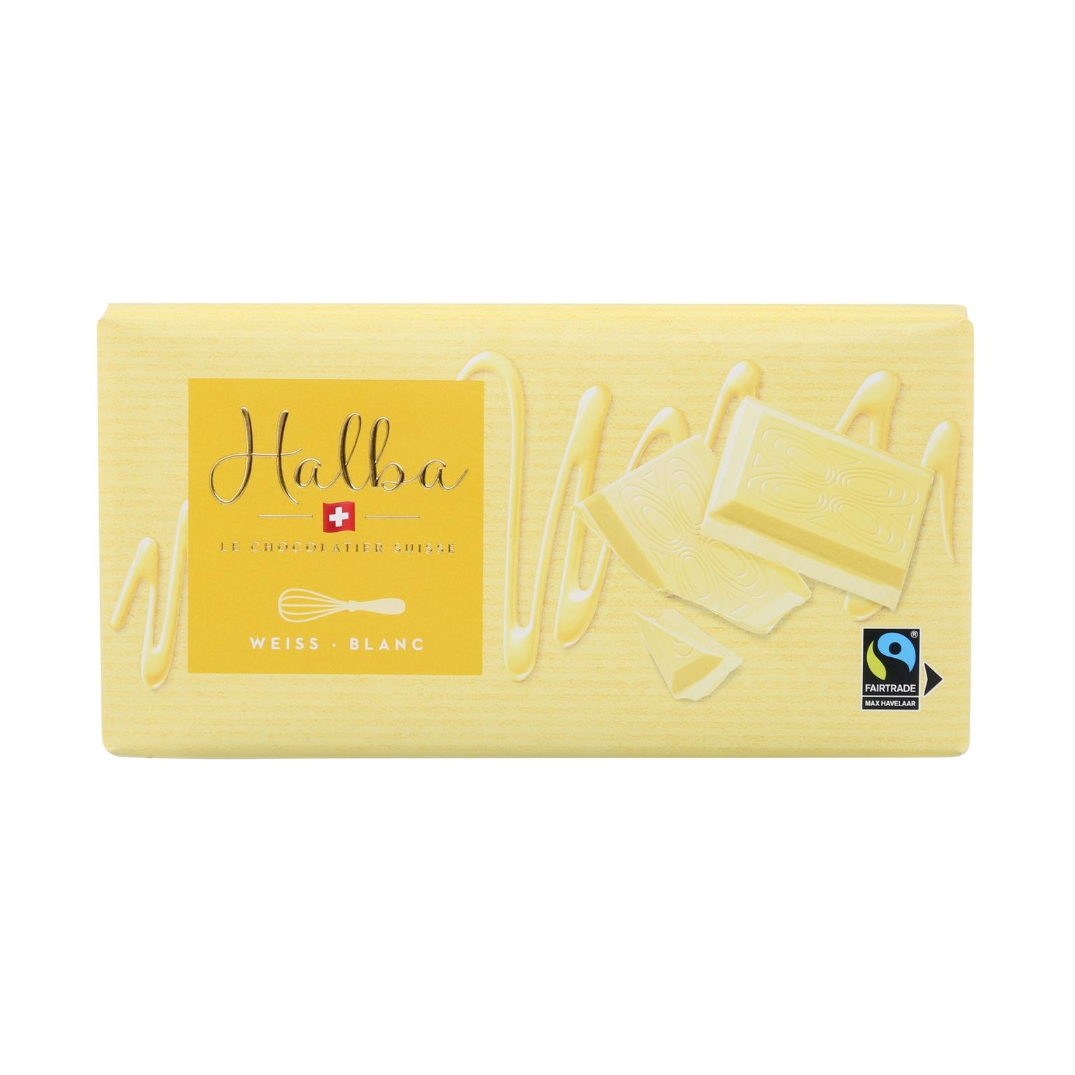 Weisse Schweizer Schokolade