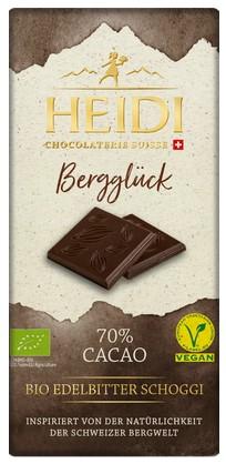 Dunkle Schokolade Bergglück