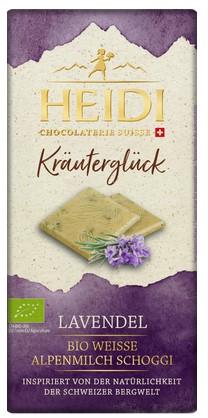 Weisse Schokolade mit Lavendel Kräuterglück