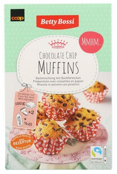 Backmischung Muffins