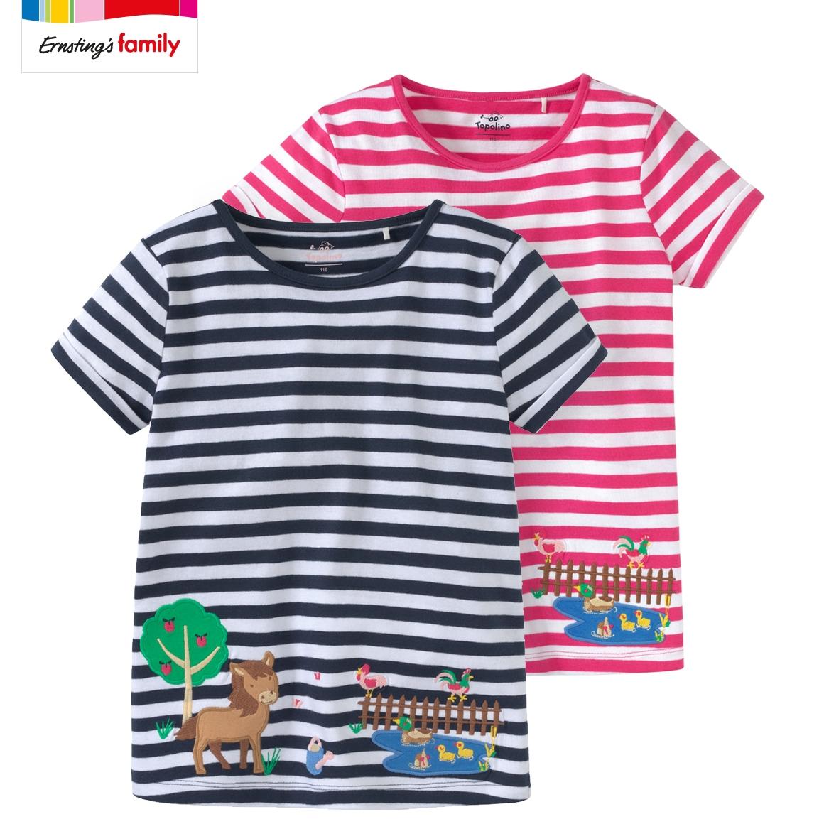 Kleinkind Mädchen T-Shirts