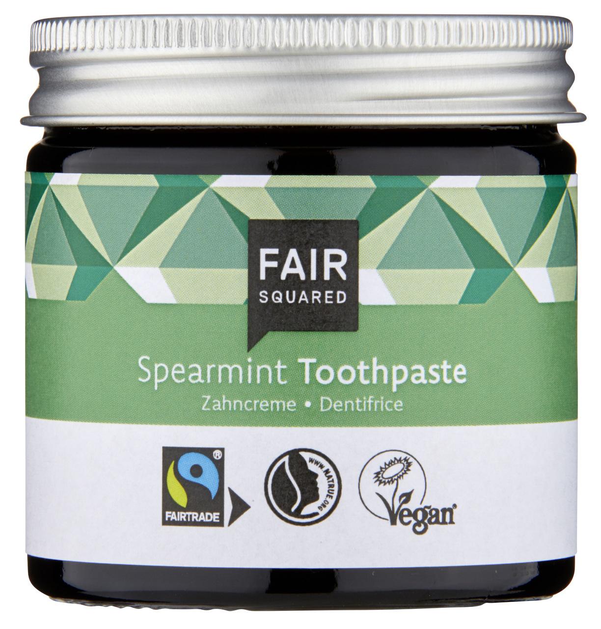 FAIR SQUARED Zahncreme Spearmint (ohne Fluor) 100ml