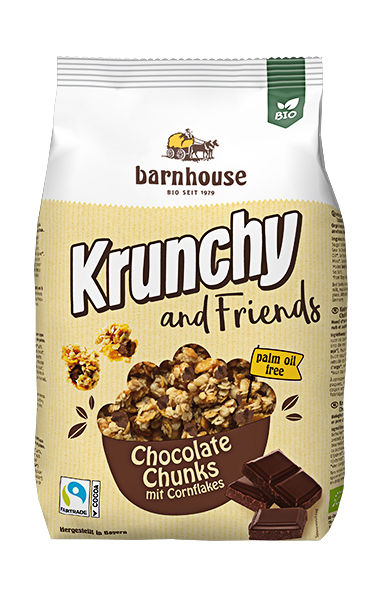 Krunchy Chocolate Chunks 500g