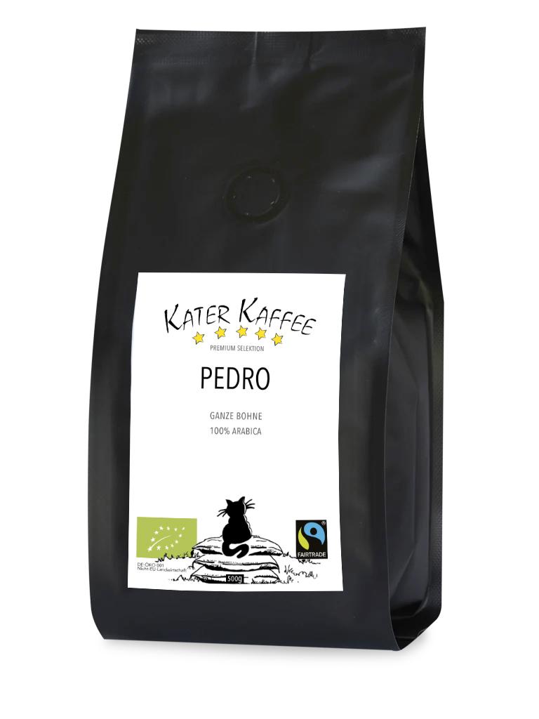 Kater Kaffee Pedro