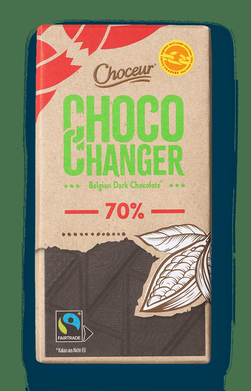 Choco Changer, Dark 70 Percent, BE, GER, NL, PT, ES